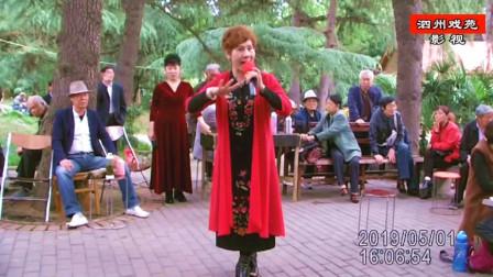 """豫剧《大祭桩》选段""""婆母娘你且息怒站在路口""""郑素珍演唱"""