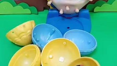 小猪佩奇玩具:白雪公主和贝尔公主第一次购物