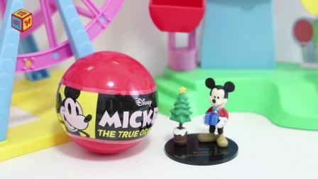 迪士尼米老鼠:米老鼠90周年纪念影视场景玩具分享