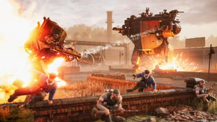 《钢铁收割》机甲战斗即时战略(RTS)游戏第三集
