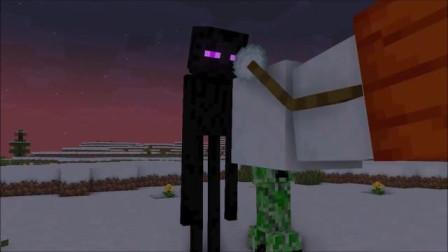 我的世界动画-顽皮的雪傀儡-Yoorop