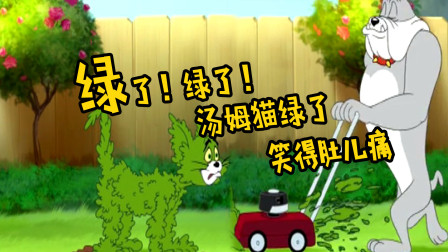 猫和老鼠四川话搞笑配音 第一季 第130集 汤姆猫打网球被打出地球?