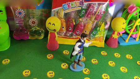 小猪佩奇玩具:到底哪一个是唱歌的公主啊是白雪还是贝儿