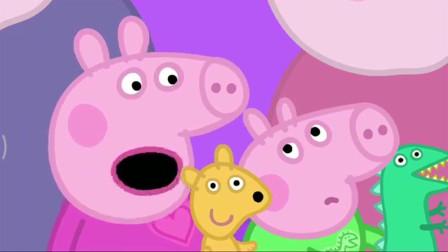 小猪佩奇:猪爷爷照顾小猪佩奇和乔治,她们被美味的披萨馋醒了