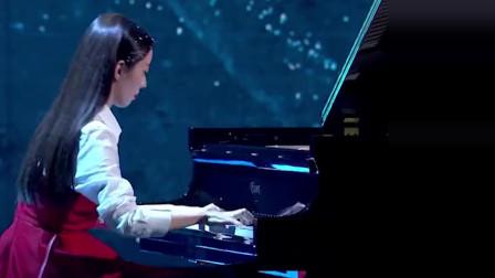 《明日之子乐团季》朗朗吉娜开场秀合奏钢琴,也太梦幻了