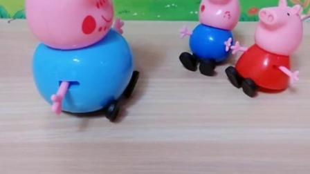 益智育儿幼教宝宝:佩奇乔治都收到了自己喜欢的玩具