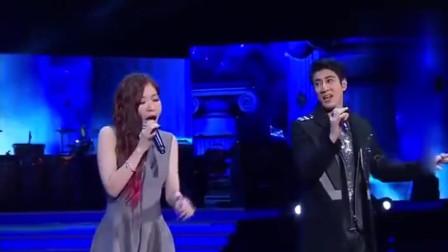 王力宏与张靓颖,首次合作《另一个天堂》,海豚音响亮!
