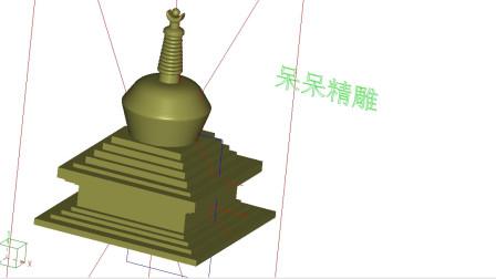 精雕软件做立体图泡沫雕刻做图技巧美陈切割字电脑切割机画图教程