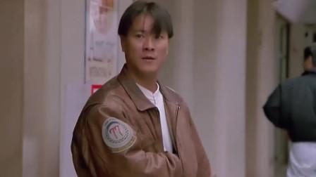 影视:李修贤在街上枪战,经典动作太热血,太精彩了