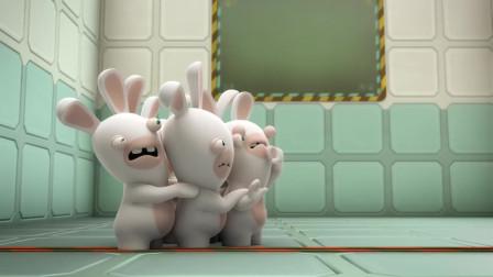 疯狂的兔子:混入一只颜色不同的兔子,其他的兔子受到惊吓了,都不敢动