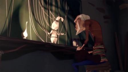 兔子身上绑着100根线,被人操纵着跳舞,这部动画成年人才看得懂!