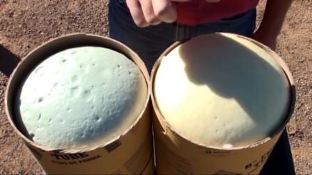 歪果仁发明一种泡沫,在袋子里揉一揉就能使用,比混凝土还坚固!