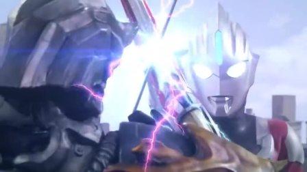 欧布奥特曼:欧布为了保护小美他们,被伽古拉的攻击伤到