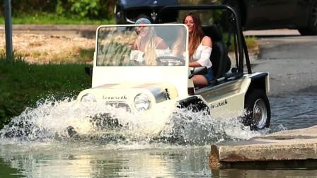 世界上最快的水路两栖车,以道奇为原型制造,在水中比游艇还快!