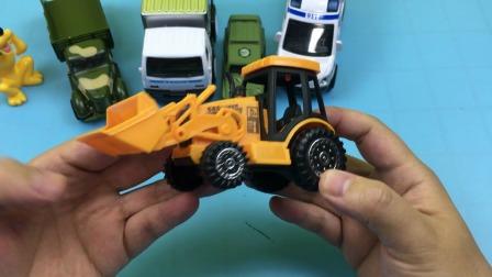 米奇妙妙屋高飞狗玩推土机工程车玩具