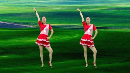 精品广场舞《映山红》革命老歌 百听不厌 舞蹈动感活力