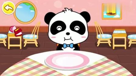 少儿宝宝巴士:奇奇想吃三明治,快点喂他吃吧