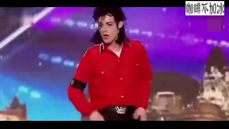 裁判还以为真的迈克尔杰克逊来了 ,跳的太牛了