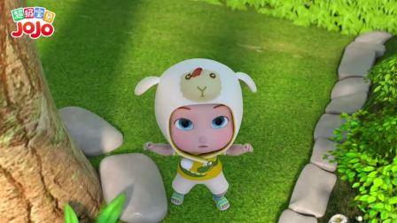 超级宝贝JOJO:哎呦,吓得宝宝一激灵
