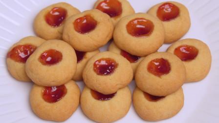 这才是曲奇饼干最好吃的做法,又酥又脆又好看,比外面买的还好吃