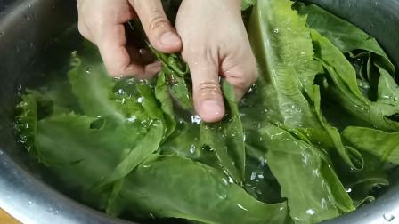 难怪广东人做的油麦菜这么香,做法简单家常,口感爽脆,太好吃了