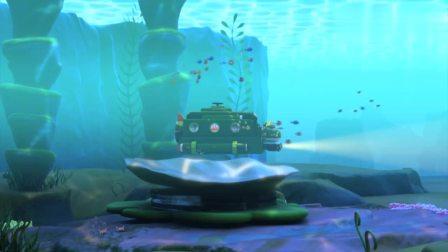 超级飞侠超级飞侠海底探险,却听到美妙的歌声,会不会是美人鱼