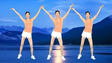 新生代广场舞 网红流行音乐《最远的你是我最近的爱》64步广场舞
