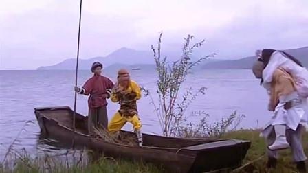 福星高照:猪八戒坐船逃生,不料鼠精把江水给喝尽,猪八戒懵了