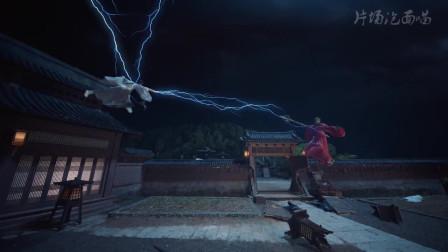 男主缠斗妖兽不敌,杨超越帮人接生完后,直接出来一剑解决