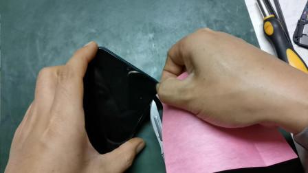 自己动手给给手机换屏幕总成!这屏真贵就说是原装的花了四百多