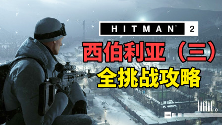 魅影天王《杀手2》狙击手刺客 西伯利亚(三)全挑战攻略解说