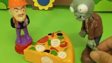 僵尸要抢光头强奥特曼的好吃的,他们找来哥哥,有哥哥的孩子真幸福