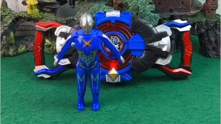 启动奥特曼变身器,奥特曼都过来了,结果有个奥特曼是怪兽变得!