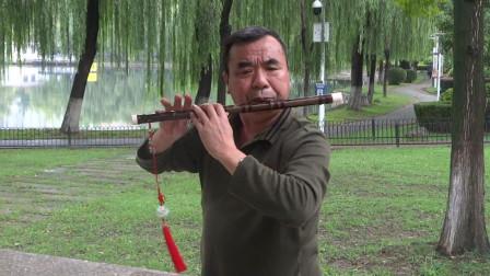 《花开故人来》张永纯 笛子独奏 E5演奏,袁再彪先生制笛。