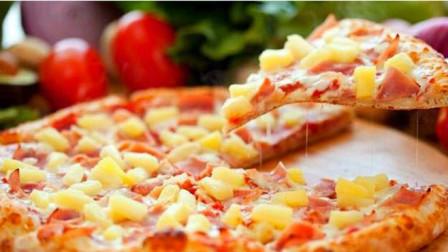肚子饿了怎么办?老外教你这样做披萨,过程非常治愈!