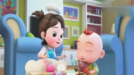 超级宝贝JOJO:这个草莓冰淇淋真有趣!