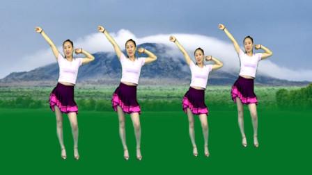 时尚健身步子舞《DJ全世界只有一个你》动感旋律 步伐青春时尚 一看就会