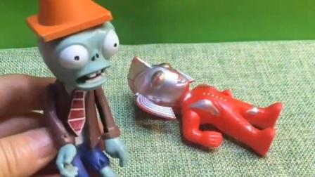 奥特曼受伤了,但是没有人帮助他,小朋友们来救奥特曼!