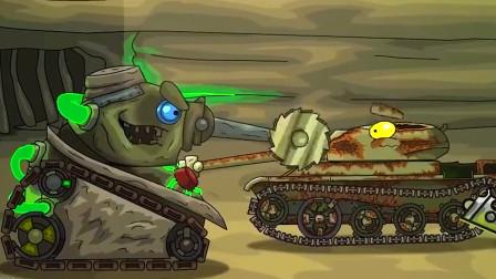 坦克大战:被钻地坦克带入老巢参加秘密改造?