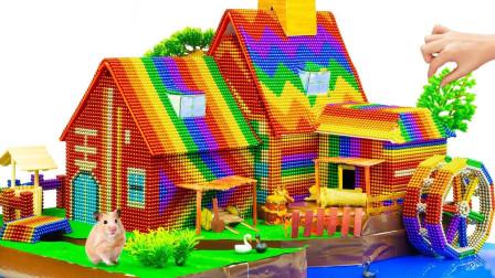 为小动物建造漂亮的巴克球小屋