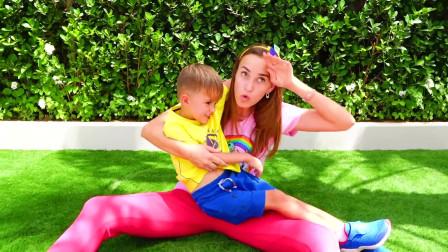 超级精彩的萌娃家庭日常短视频197 集, 儿童故事玩具