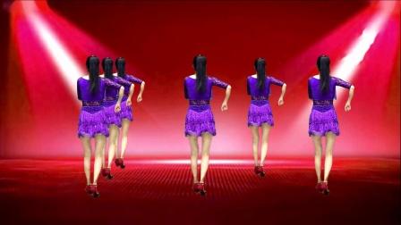 健身广场舞《魅力恰恰》扭腰提胯,恰恰风格,魅力四射