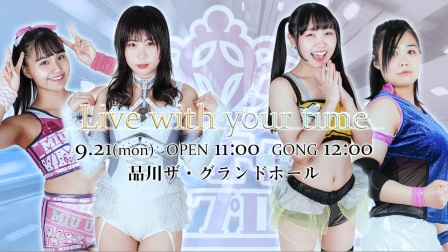 TJPW - Live With Your Time 2020.09.21