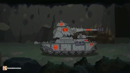 坦克世界:巨型坦克使出了电击大招击败对手