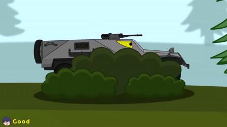 坦克世界:机器人一样的坦克一下子射掉三辆坦克