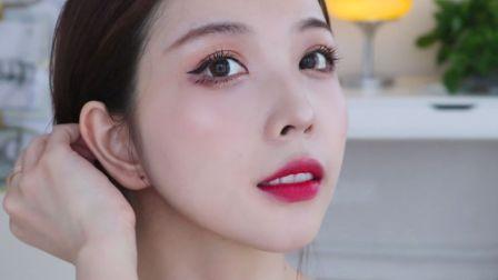 一个显得很有钱的韩国小姐姐 妆