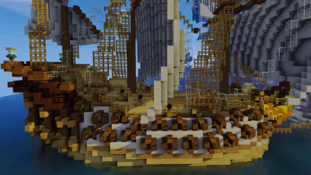 沙漠游戏《MC我的世界》(5)纪念碑谷地图试玩