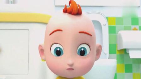 超级宝贝:jojo第一次使用小马桶自己上厕所,全家人为他加油