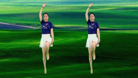 精选32步广场舞《唐僧也疯狂》动感时尚 活力十足