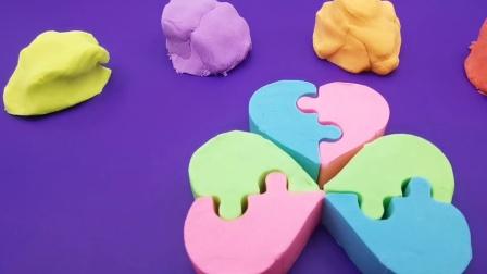 益智早教彩泥:手工捏出彩虹花瓣花  发挥宝宝想象力